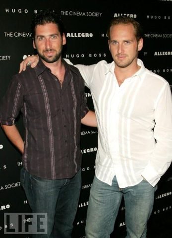 Photo of Josh Lucas & his  Brother  Devin Maurer